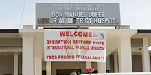 Don  Manuel Lopez Memorial District Hospital in Batangas